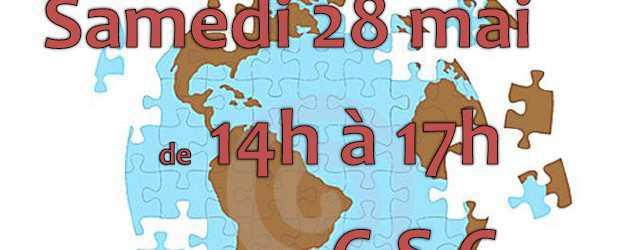 Le samedi 28 mai de 14h à 17h au Centre Social et Culturel viens jouer en faisant découvrir des jeux […]
