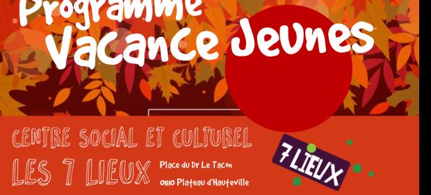 Sport, réflexion et activités manuelle… Le programme des vacances d'automne pour les ados est disponible!!! Les inscriptions sont ouvertes.