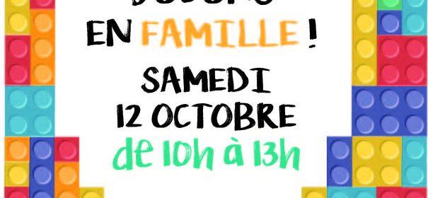 Samedi 12 Octobre de 10h à 13h, venez partager un moment convivial en famille autour de jeux de société, de […]