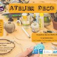 Venez participer aux ateliers déco du Centre Social : Déco d'automne, création de pancartes en carton, origamis d'hiver, déco de […]