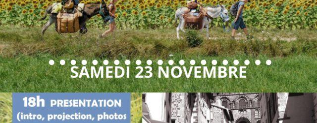 Le 23 Novembre prochain, à partir de 18h, aura lieuau centre socialunesoirée de soutien à l'association Chemins de Travers: présentation […]